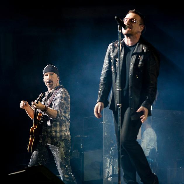 U2 in Cardiff